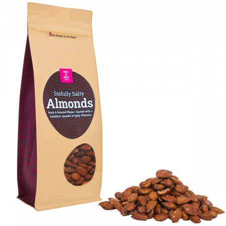 Sinfully Salty Almonds