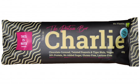 This is Charlie the Protein Bar