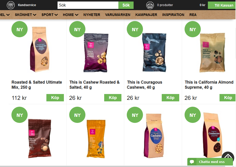 This Is Nuts Launches on Bodystore